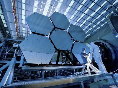 A James Webb Space Telescope Array Being Tested in the X-Ray and Cryogenic Facility-Stocktrek Images-Photographic Print