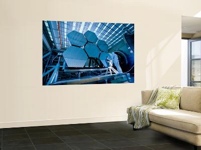 A James Webb Space Telescope Array Being Tested in the X-Ray and Cryogenic Facility-Stocktrek Images-Wall Mural