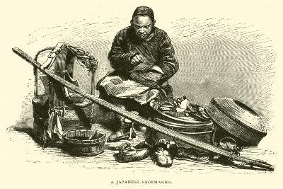 A Japanese Shoemaker--Giclee Print