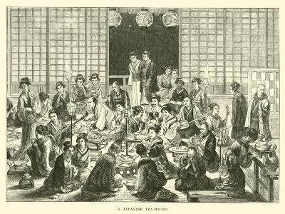 A Japanese Tea-House--Giclee Print