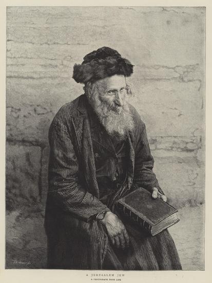 A Jerusalem Jew--Giclee Print