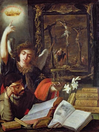 A Jesuit Conversion-Juan de Valdes Leal-Giclee Print