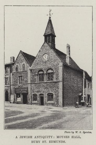 A Jewish Antiquity, Moyses Hall, Bury St Edmunds--Giclee Print