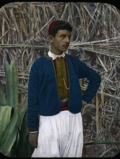 A Jewish Boy, Tangier, Morocco--Giclee Print