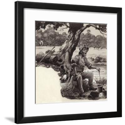 A Jolly Swagman-Pat Nicolle-Framed Giclee Print