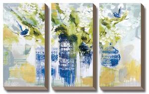 Blue Wrens by A Jones