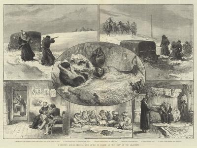 A Journey across Siberia, Our Artist in Search of the Crew of the Jeannette--Giclee Print