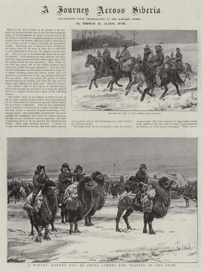 A Journey across Siberia-Thomas Allen-Giclee Print