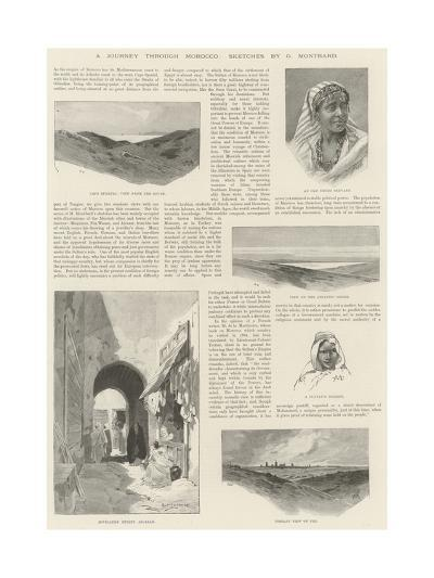 A Journey Through Morocco-Charles Auguste Loye-Giclee Print