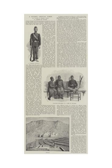 A Journey Through Yemen-Amedee Forestier-Giclee Print