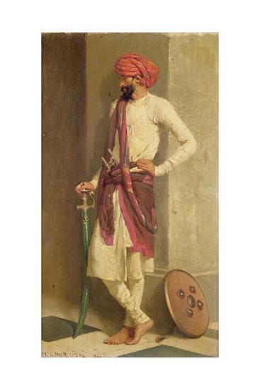 A Kattiwar Sentry-Horace Van Ruith-Giclee Print