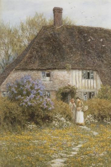A Kentish Cottage-Helen Allingham-Giclee Print