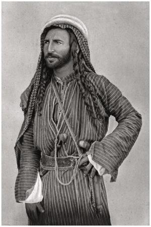 A Bedouin of the Desert, Iraq, 1925