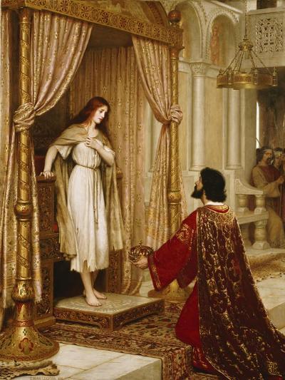 A King and a Beggar Maid, 1898-Edmund Blair Leighton-Giclee Print
