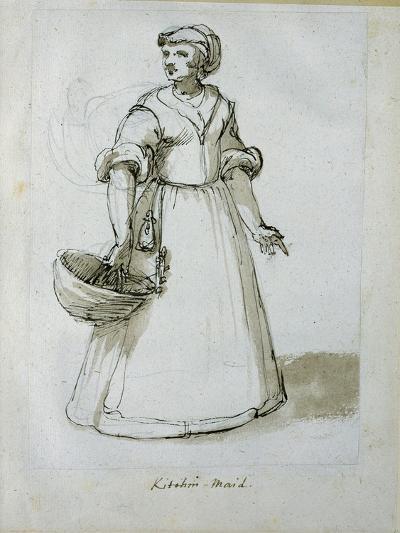 A Kitchen Maid-Inigo Jones-Giclee Print