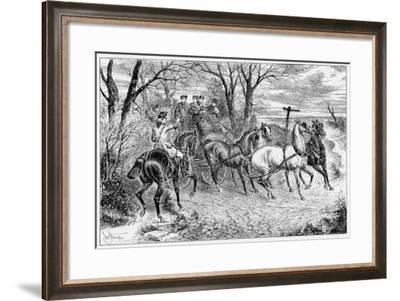 A Knight of the Road, 1881-John Sturgess-Framed Giclee Print