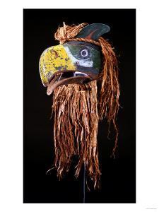 A Kwakiutl Thunderbird Mask, Red Cedar