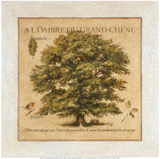 A l'Ombre du Grand Chene-Pascal Cessou-Art Print