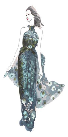 A La Mode II-Sandra Jacobs-Art Print
