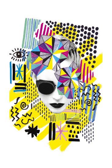 A La Mode - Melange--Giclee Print