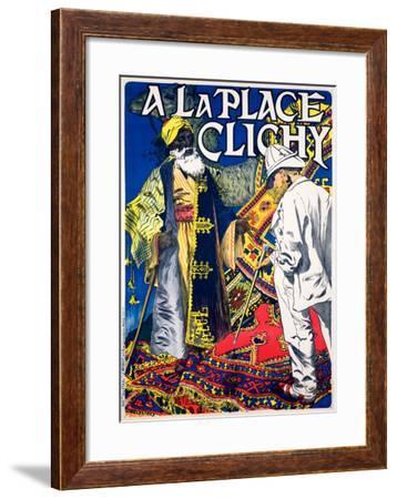 A La Place Clichy--Framed Giclee Print