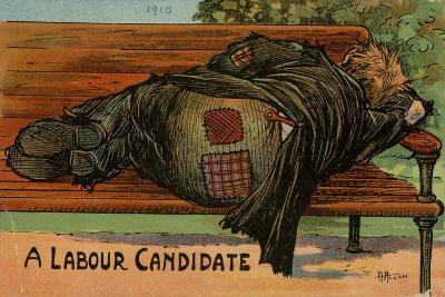 A Labour Candidate, 1910--Giclee Print