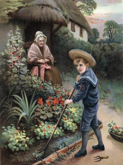 A Labour of Love, 1905--Giclee Print