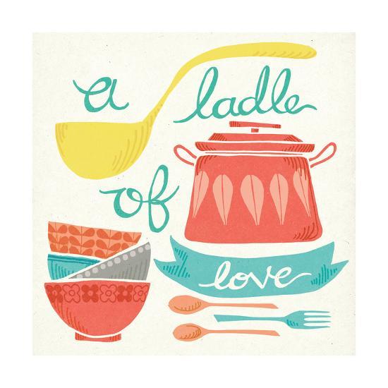 A Ladle of Love-Mary Urban-Art Print
