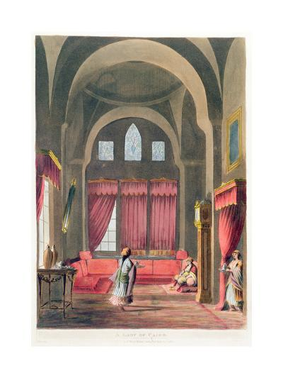 A Lady in Cairo, 1802--Giclee Print