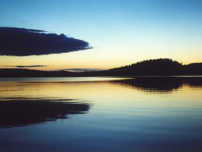 A Lake in Smaland, Sweden--Photographic Print