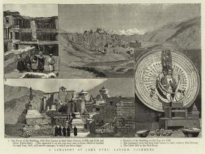 A Lamasery at Lama Yuru, Ladakh, Cashmere