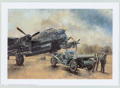 A Lancaster and a Bentley-Peter Miller-Art Print