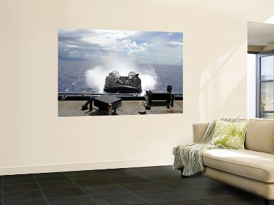 A Landing Craft Air Cushion Prepares to Enter the Well-Deck of USS Harpers Ferry-Stocktrek Images-Wall Mural