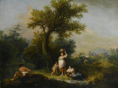 A Landscape-Francesco Zuccarelli-Giclee Print