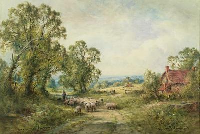A Lane Near Pulborough-Henry John Kinnaird-Giclee Print