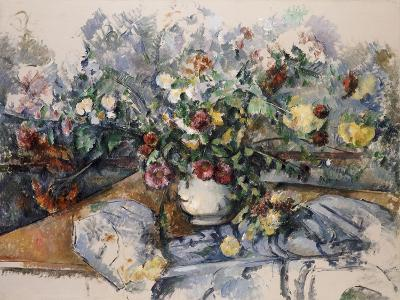 A Large Bouquet of Flowers, C.1892-95-Paul C?zanne-Giclee Print