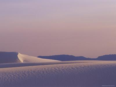 A Large Expanse of Sand Dunes in White Sands National Monument-Raul Touzon-Photographic Print