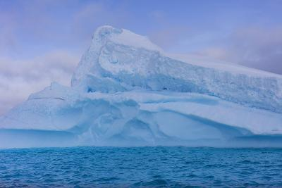 A Large Iceberg Floats in Cierva Cove-Stephen Alvarez-Photographic Print