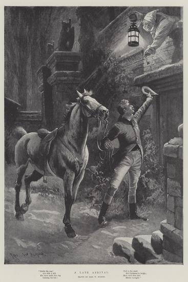 A Late Arrival-Sir Frederick William Burton-Giclee Print