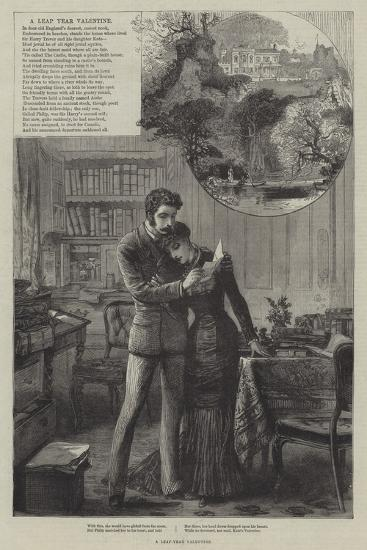 A Leap-Year Valentine--Giclee Print