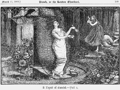 A Legend of Camelot - Part 3, 1866-George Du Maurier-Giclee Print