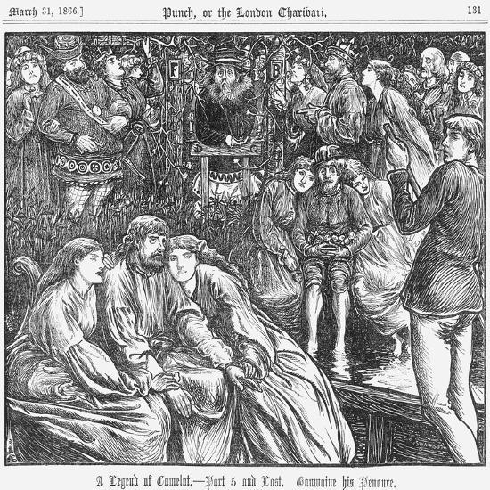 A Legend of Camelot - Part 5 and Last, 1866--Giclee Print