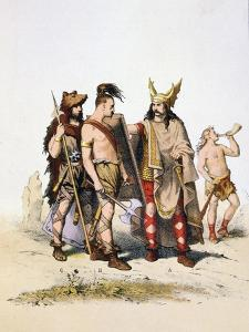 Administrators of the Villages, 5th Century by A Lemercier