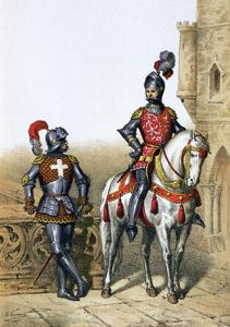 Captain of the Archers in Paris and a Cavalier, 15th Century by A Lemercier