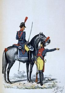 Imperial Gendarmerie of Paris, 1813 by A Lemercier