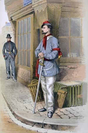 Parisian Civic Guard, 1887