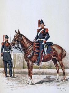 Parisian Republican Guard, 16 May 1848 - 1 Febuary 1849 by A Lemercier