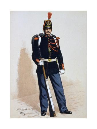 Republican Guard, 1871