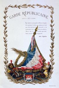 Republican Guard, 1887 by A Lemercier