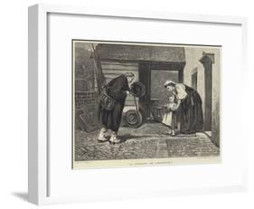 A Lesson in Charity-Philip Hermogenes Calderon-Framed Giclee Print